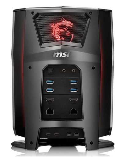 Mini MSI Vortex Gaming PC