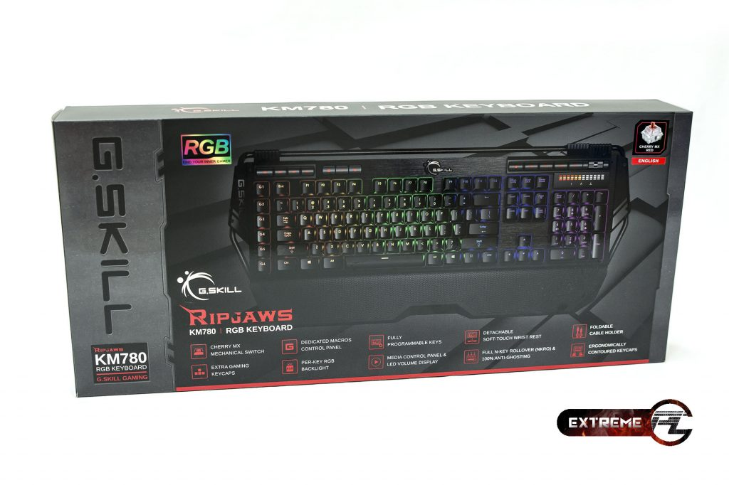 G.SKILL Ripjaws KM780 RGB Keyboard