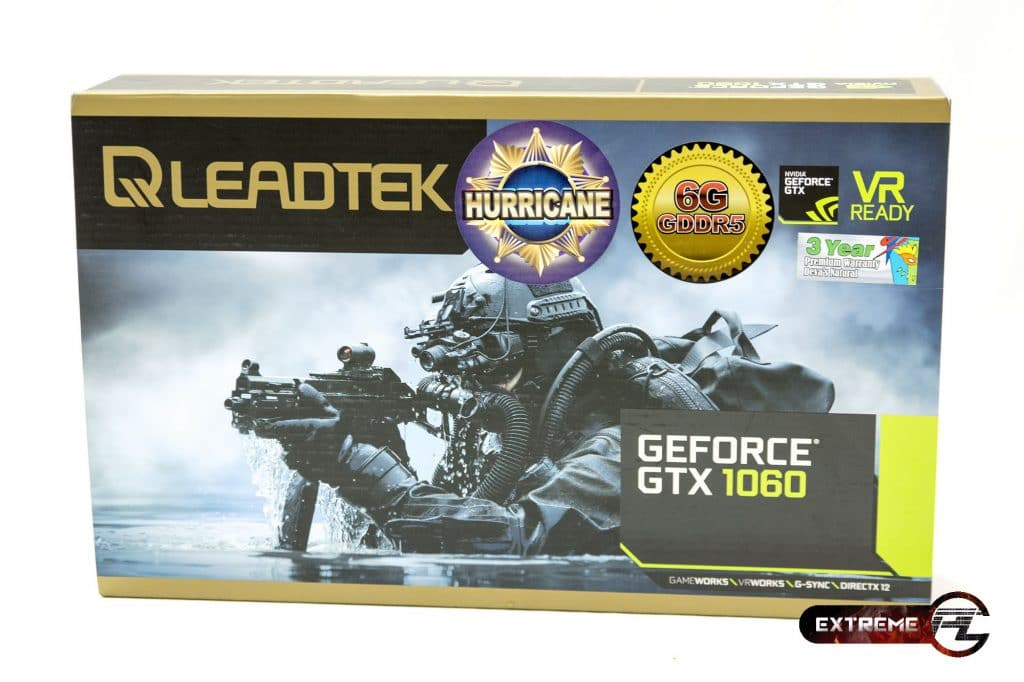 Leadtek GTX 1060 HURRICANE