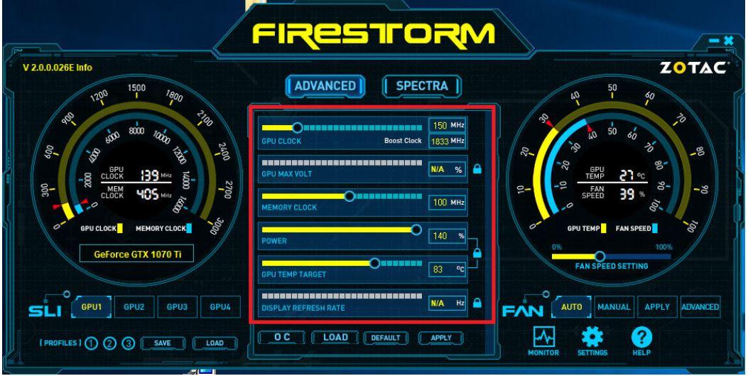 firestorm zotac