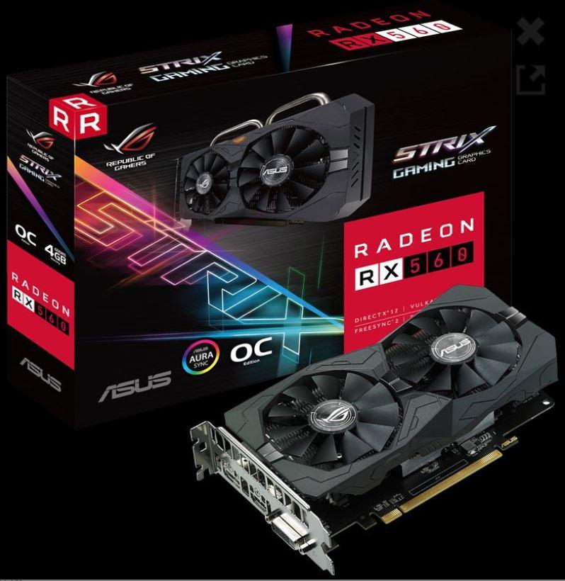 Driver UPDATE: Asus Radeon RX 560