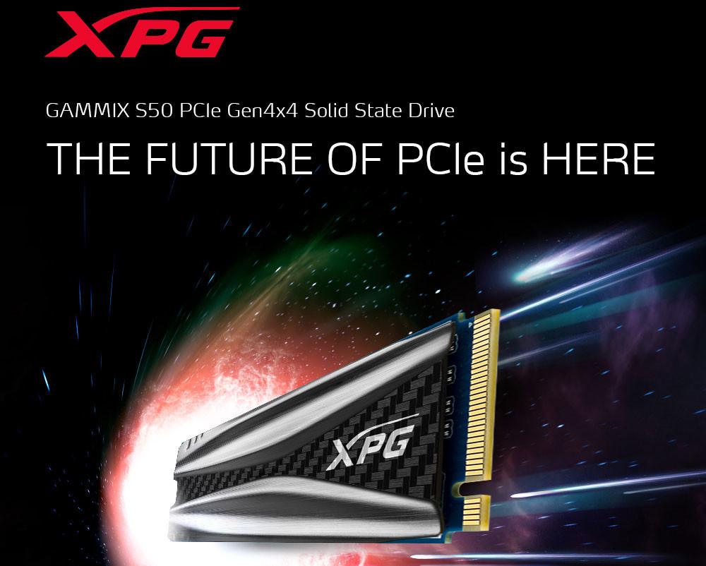 ADATA เปิดตัว XPG GAMMIX S50 SSD PCIe 4 0 เร็วแรงทะลุ 5000 MB/s